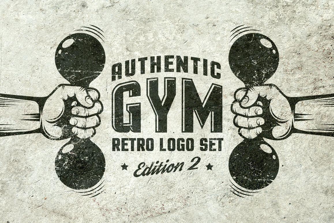 Gym Retro Logo 2 example image