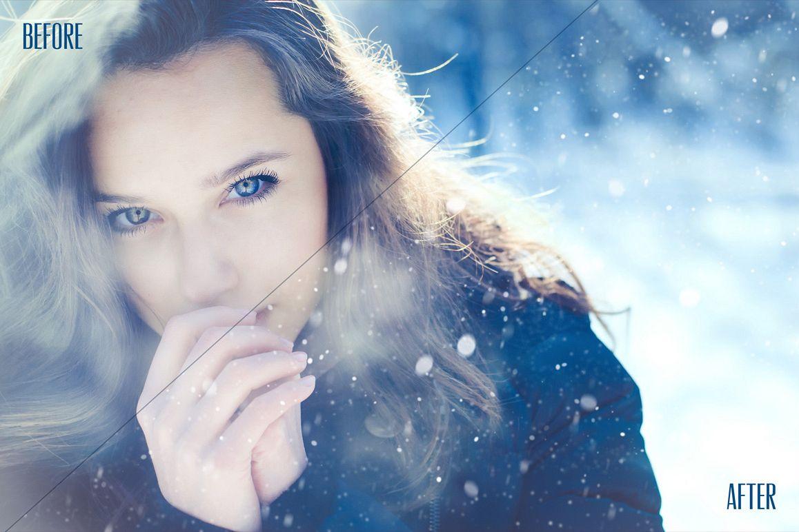 Snowflake Photo Overlays example image 2