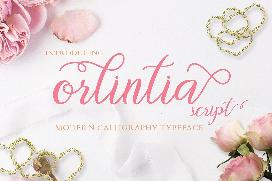 Orlintia Script  example image