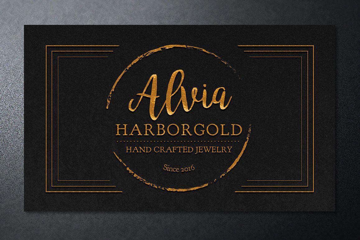 Jewelry Store Business Card Photoshop T   Design Bundles