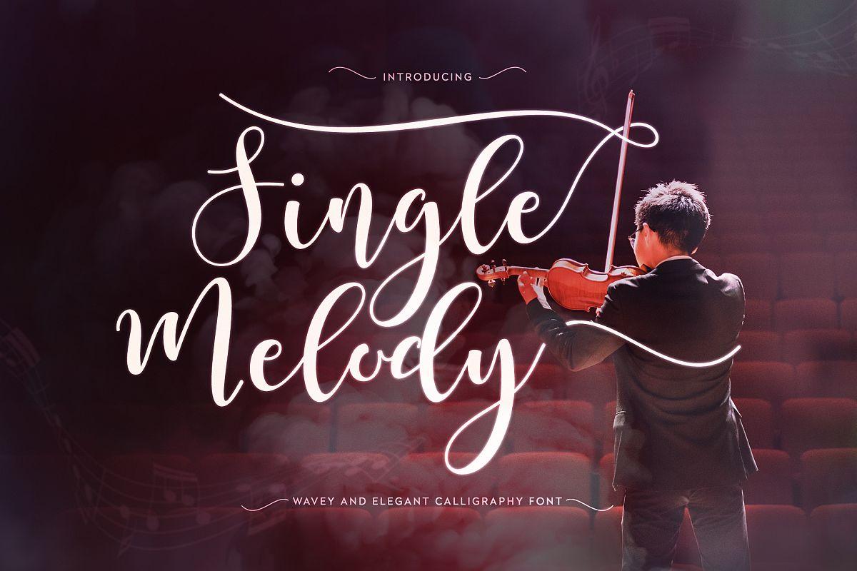 Single Melody example image