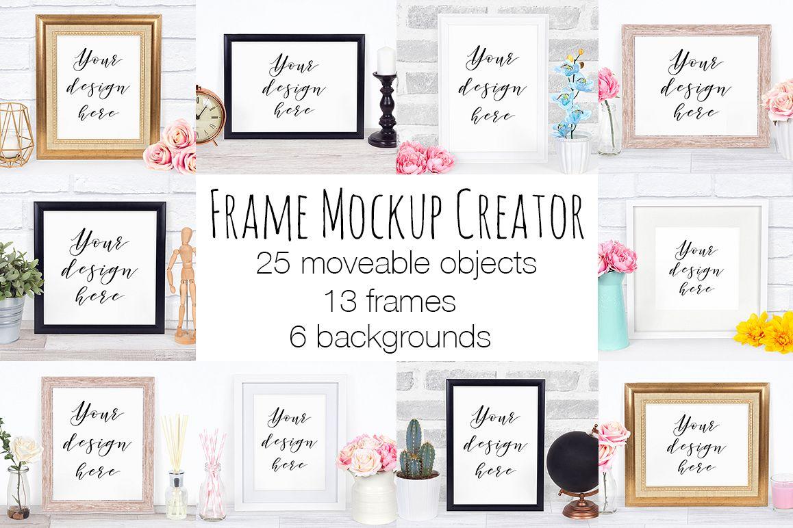 Frame Mockup Scene Creator example image