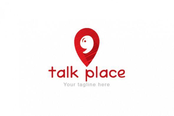Talk Place Address Marker Speech Bu Design Bundles