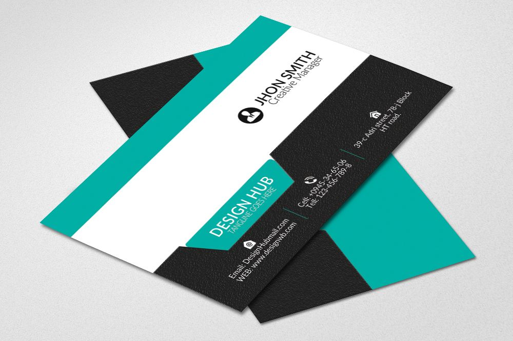 Simple Business Cards by Designhub719 | Design Bundles