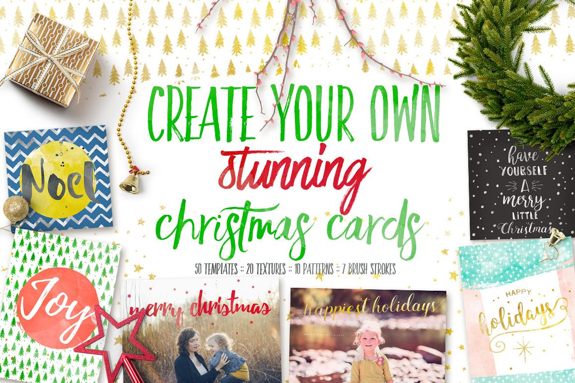 Design your own Christmas Cards example image