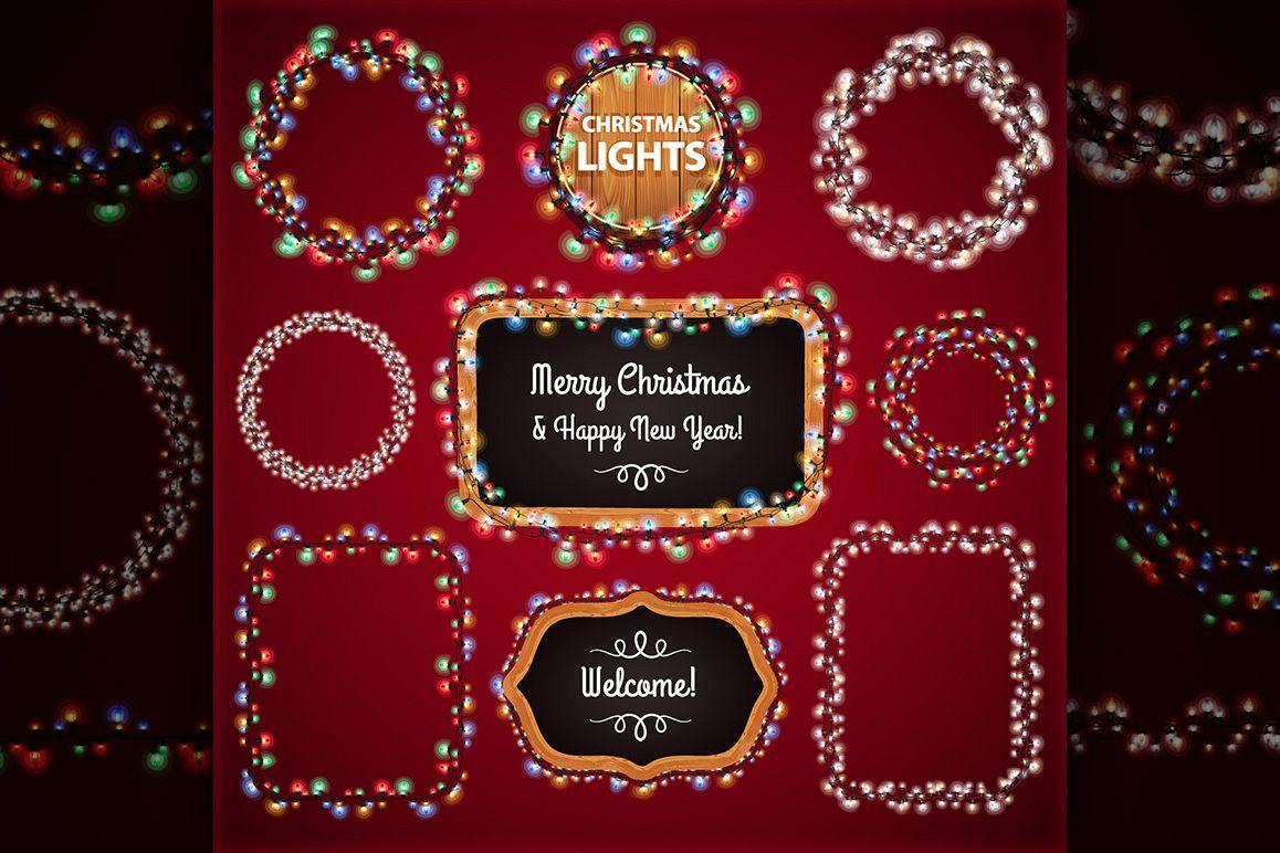 Christmas Lights Decorations Set example image 7