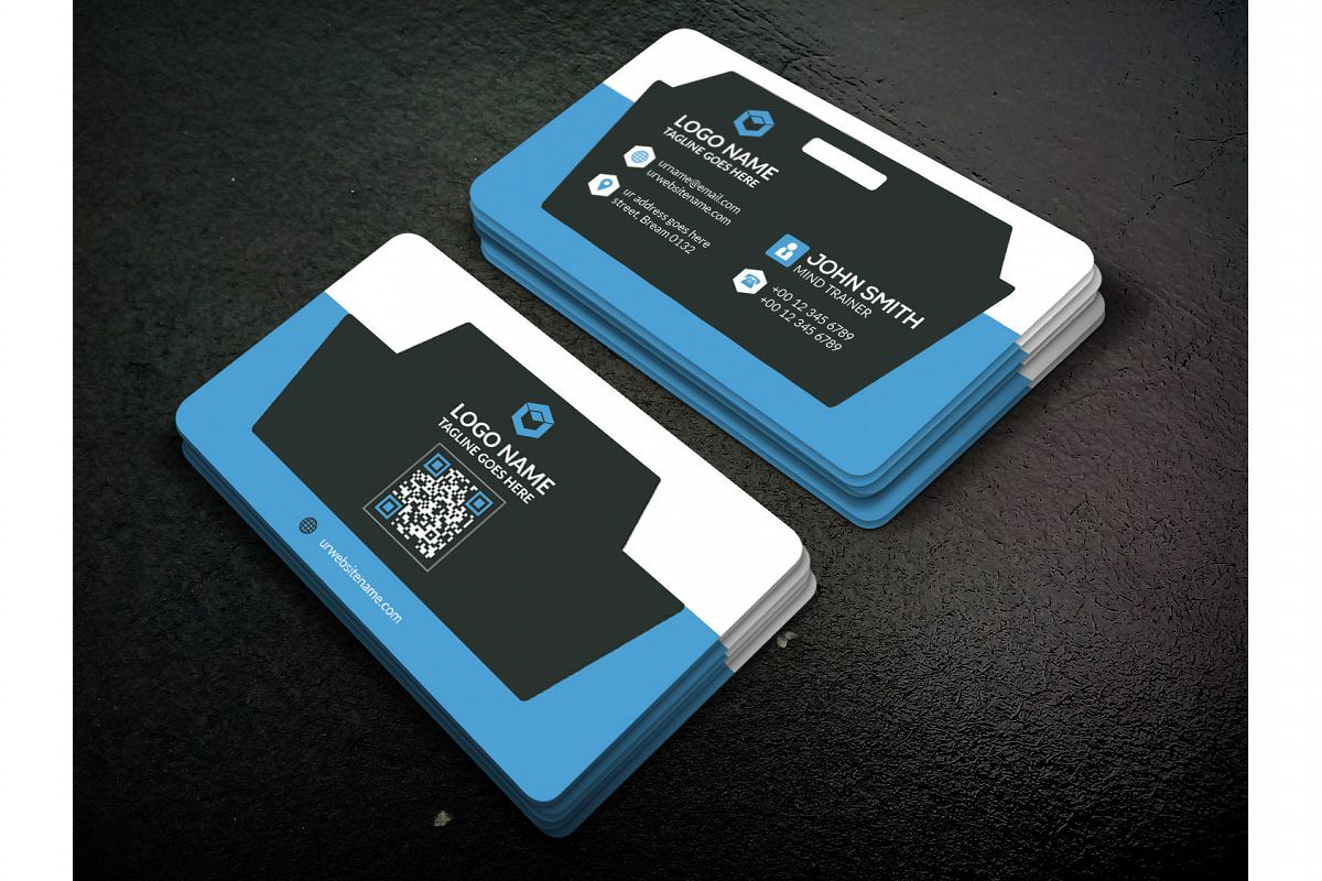 Smart Business Card by Sense Art | Design Bundles