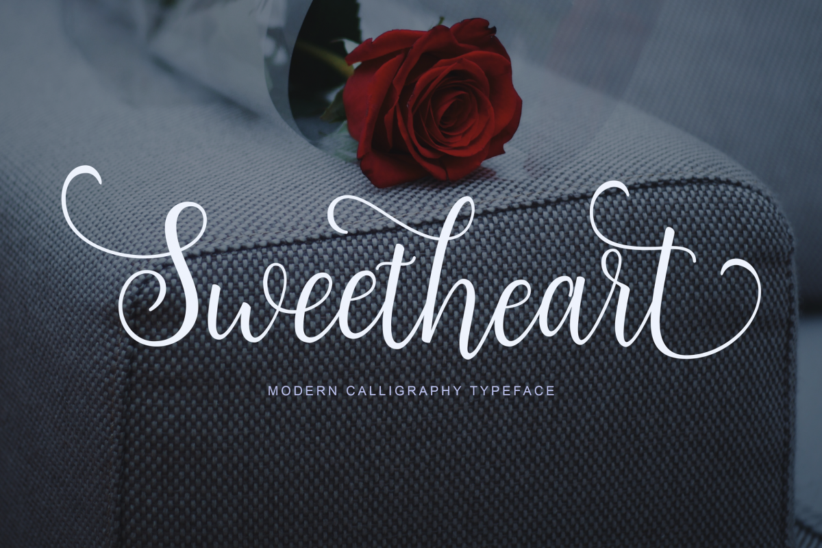 Sweetheart Script example image