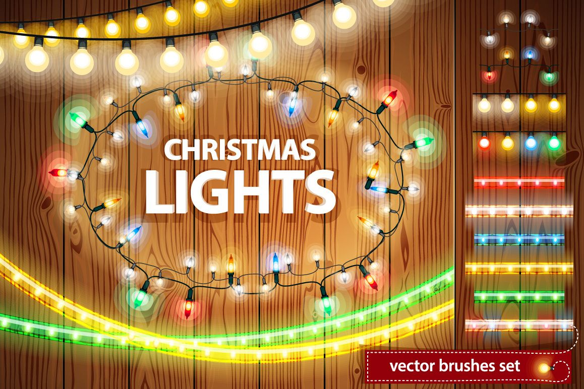 Christmas Lights Decorations Set example image