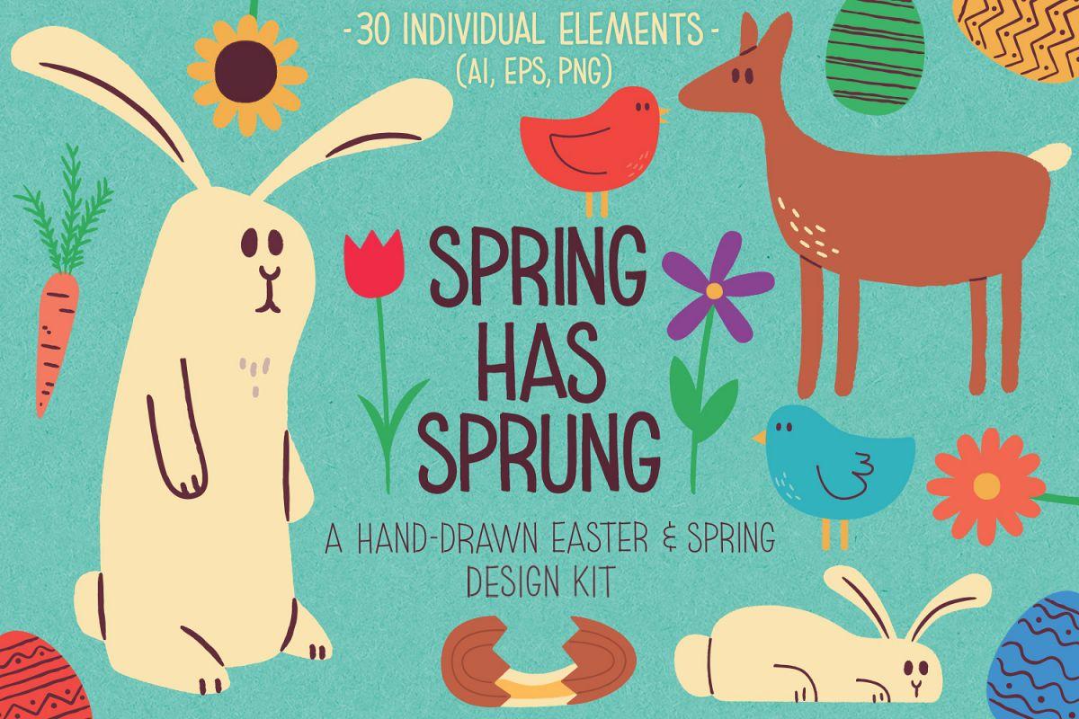 Spring Has Sprung Kit example image