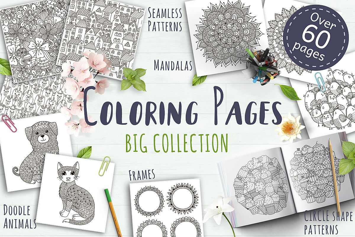 Coloring Pages Big Collection example image