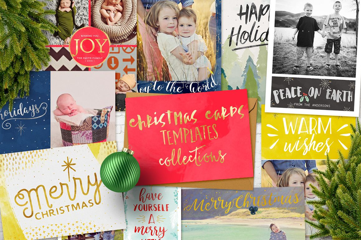 Christmas Cards Templates Collection example image