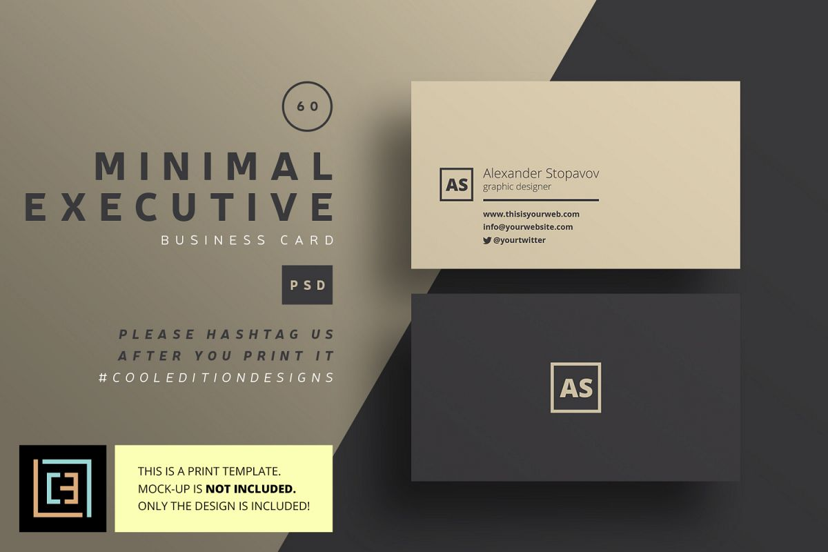 Cool Executive Business Cards Gallery - Business Card Ideas - etadam ...