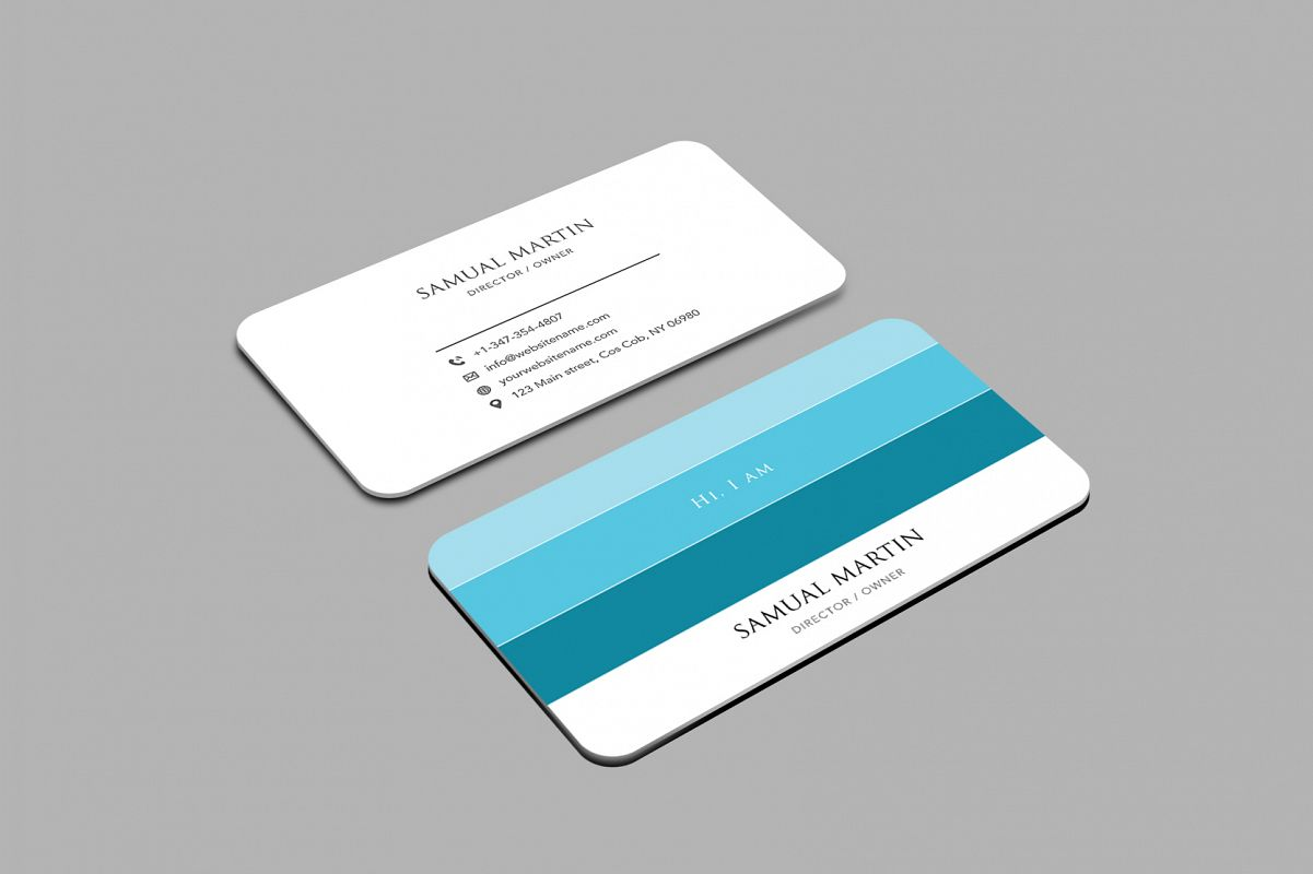 Beautiful colours modern art business c design bundles beautiful colours modern art business card example image colourmoves