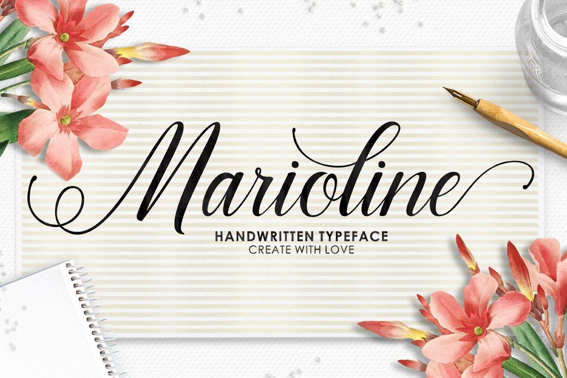 Marioline Script example image