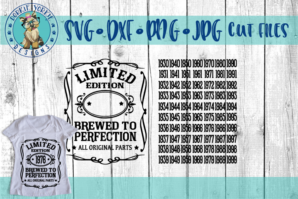 Brewed to Perfection SVG Cut File - All original parts example image