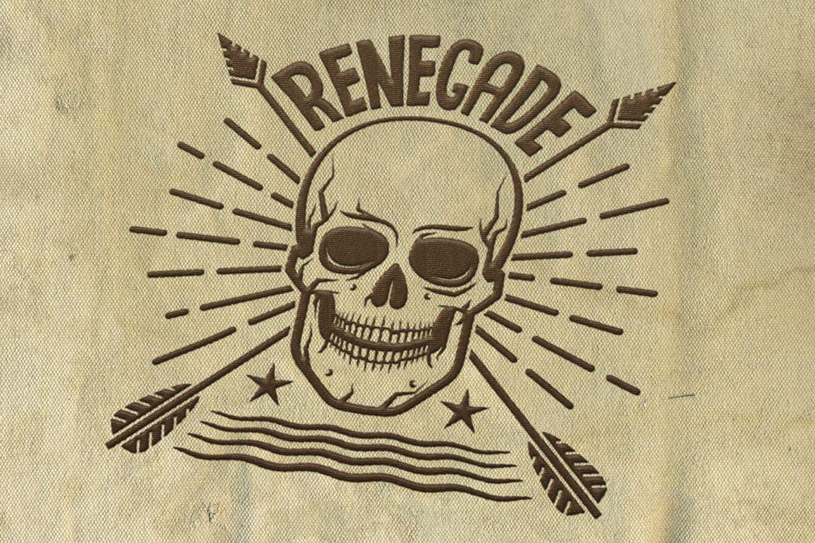 Hipster Skull Design Bundle example image 6