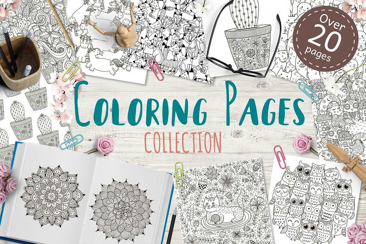 Coloring Pages New Collection example image