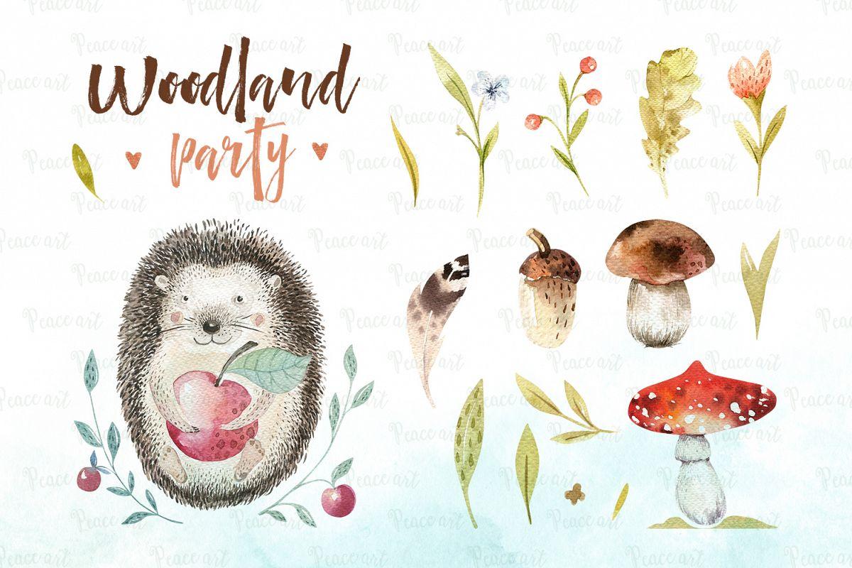Woodland party I example image 3