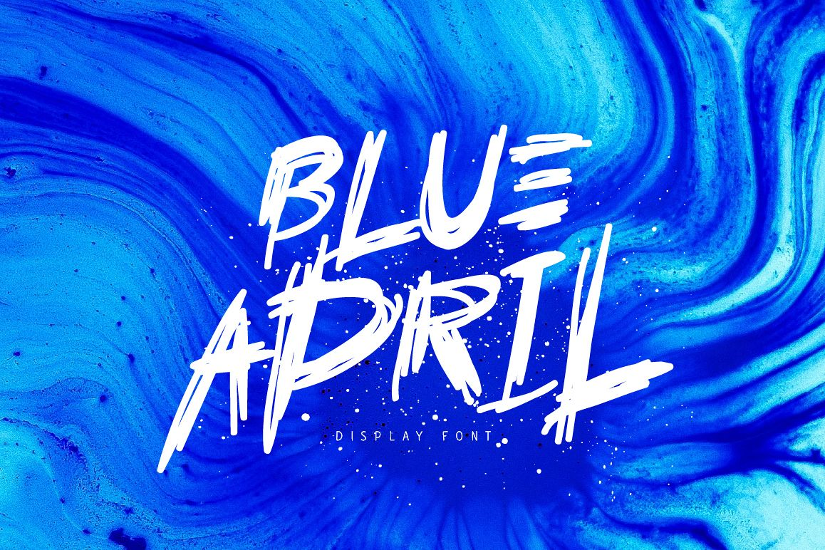 Blue April example image