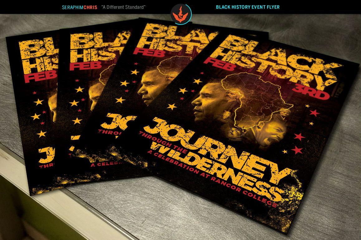 Black history flyer photoshop template design bundles black history flyer photoshop template example image saigontimesfo