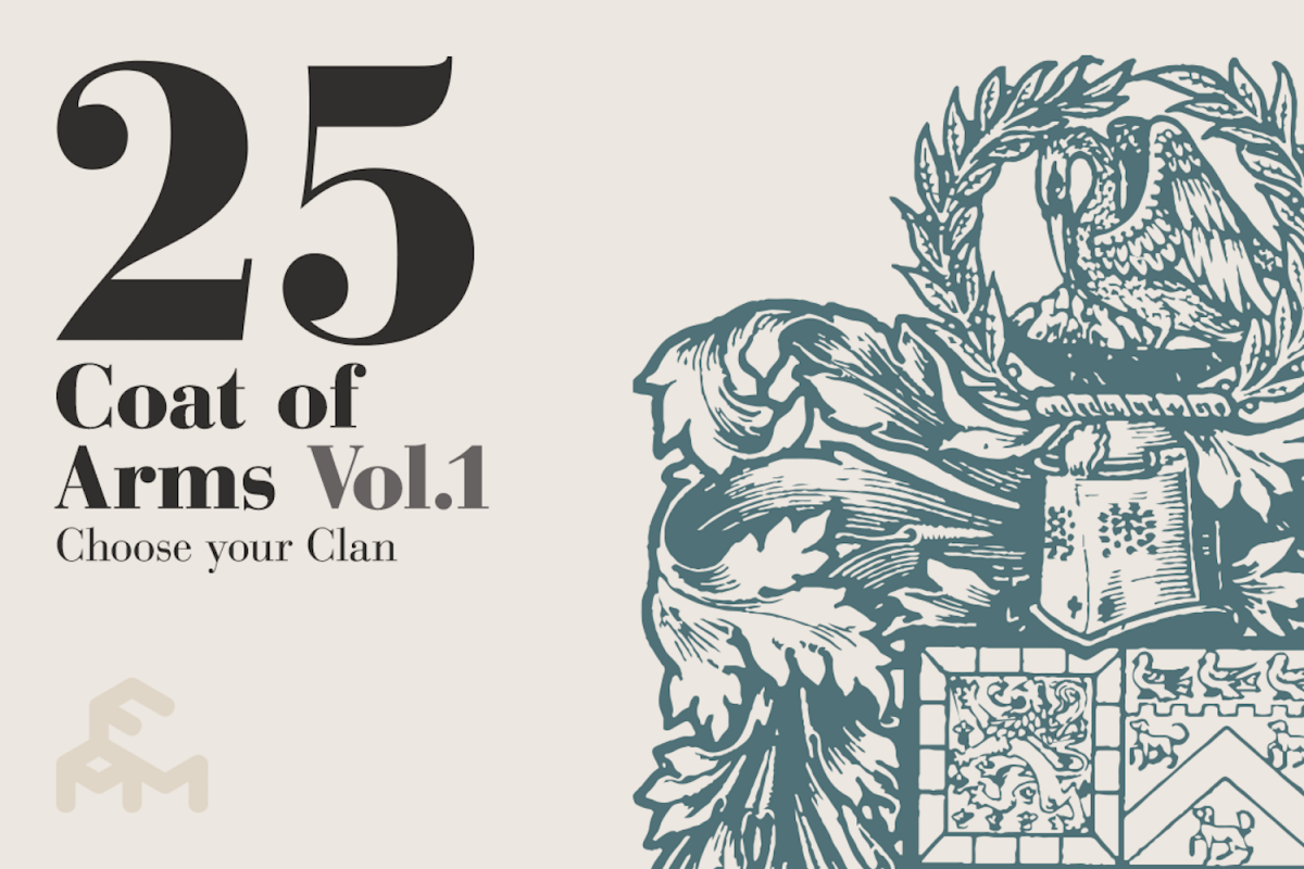 25 Coat Of Arms - Vol.1 example image