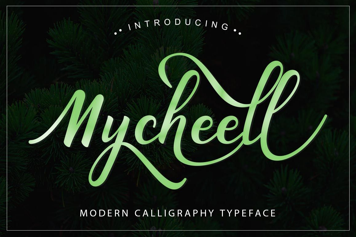 Mycheell Script example image