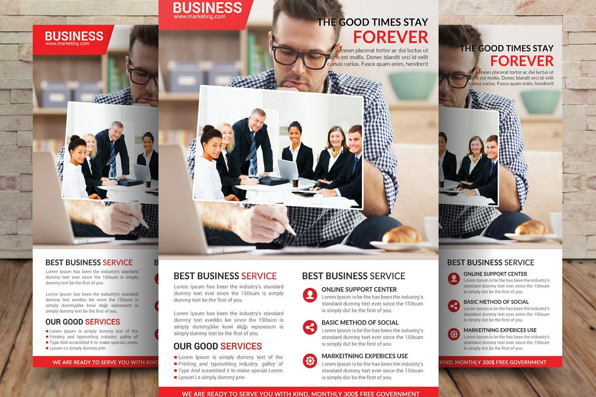 Business Flyer example image