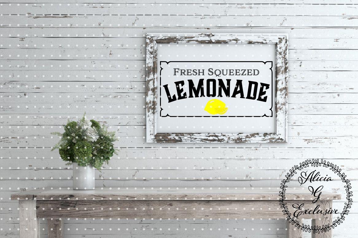 Fresh Squeezed Lemonade example image