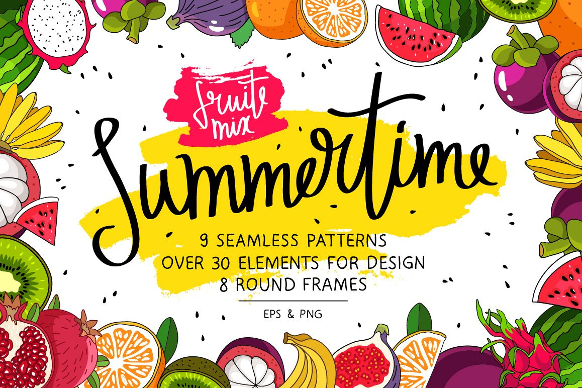 Summertime. Fruit Mix example image