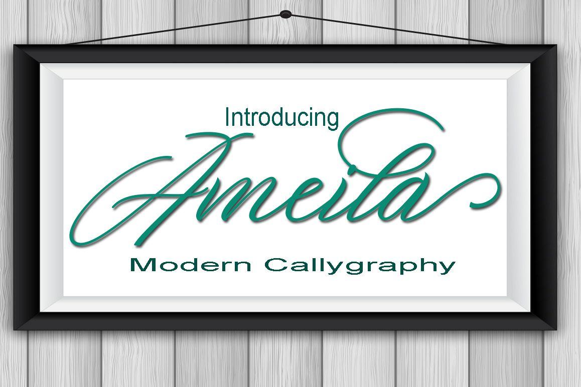 Ameila Script example image