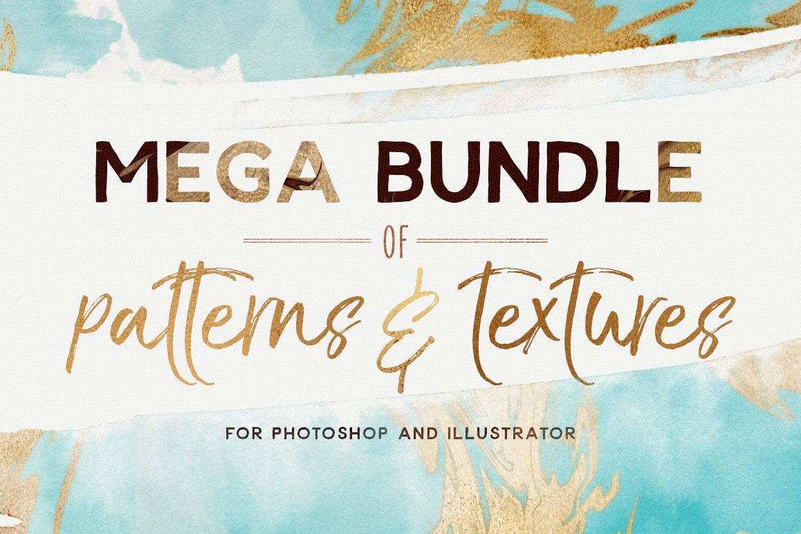 Mega Bundle Patterns and Textures example image