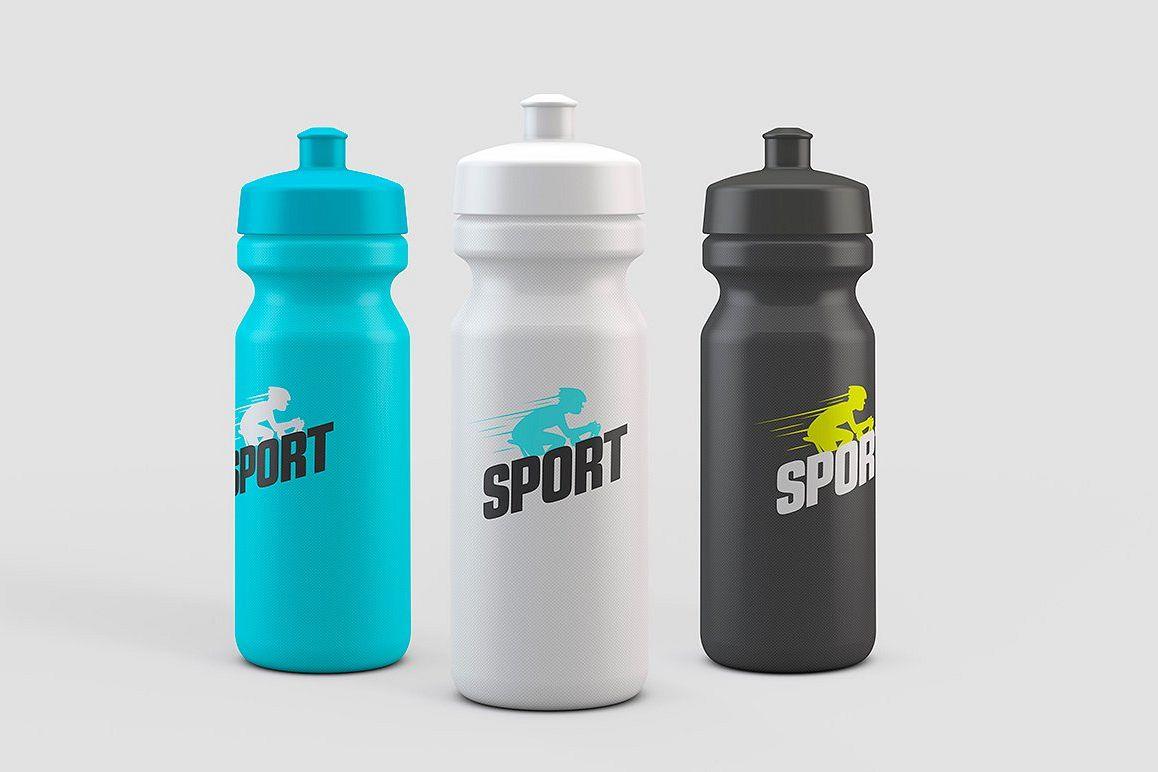 Sport Water Bottle Mock-Up example image