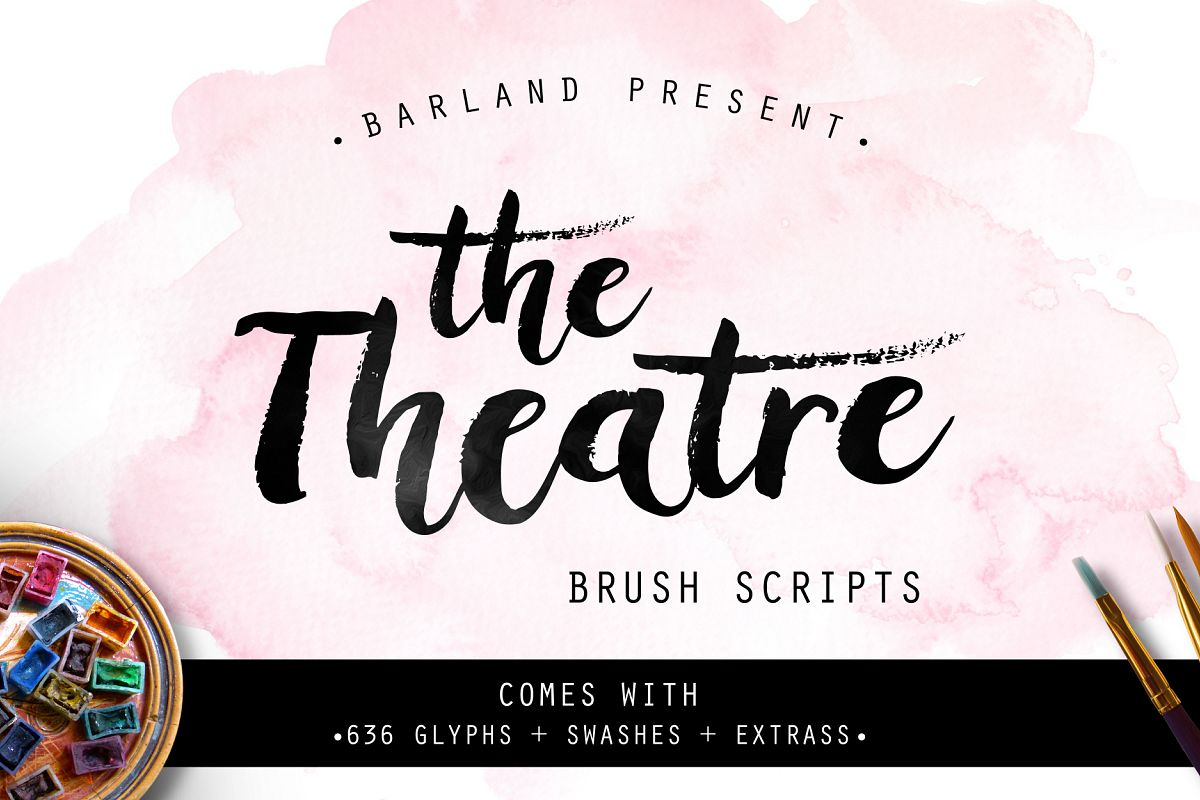 The Theatre Brush - 30% OFF example image