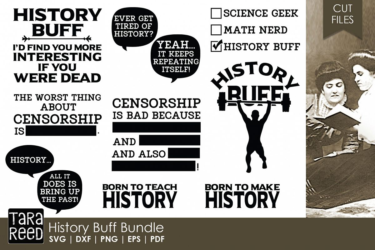 History Buff Bundle By Tara Reed Designs Design Bundles