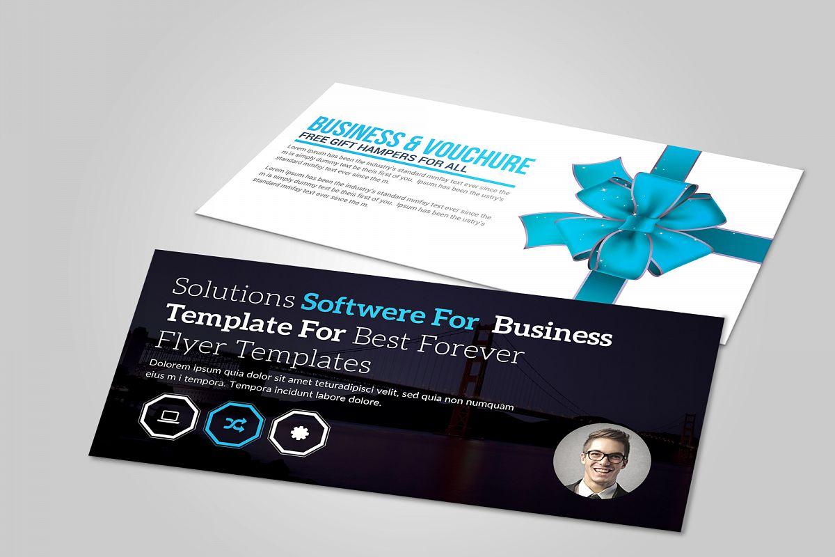 Business Gift Voucher by Business Templ | Design Bundles