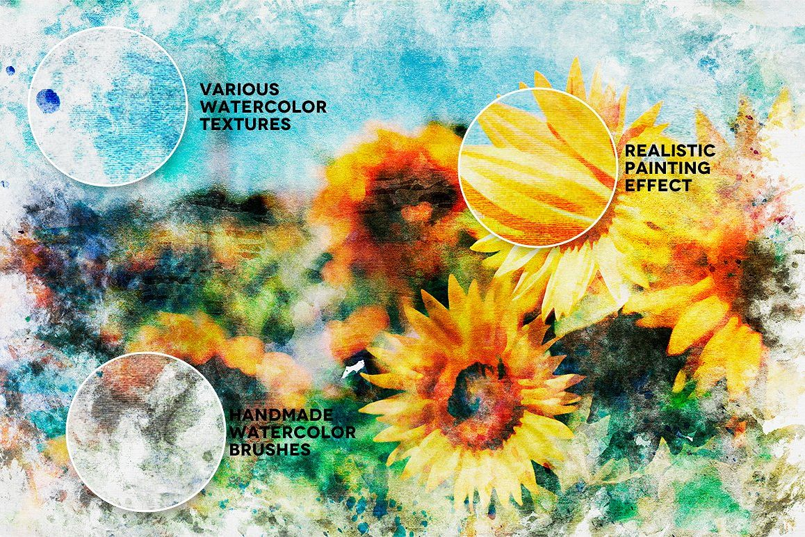 Watercolor Painting Studio Vol. 05 example image 7