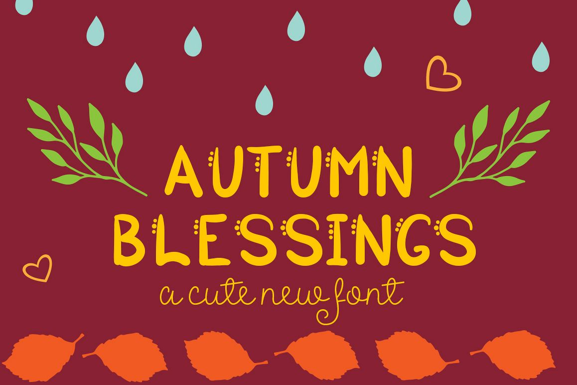 Autumn Blessings example image
