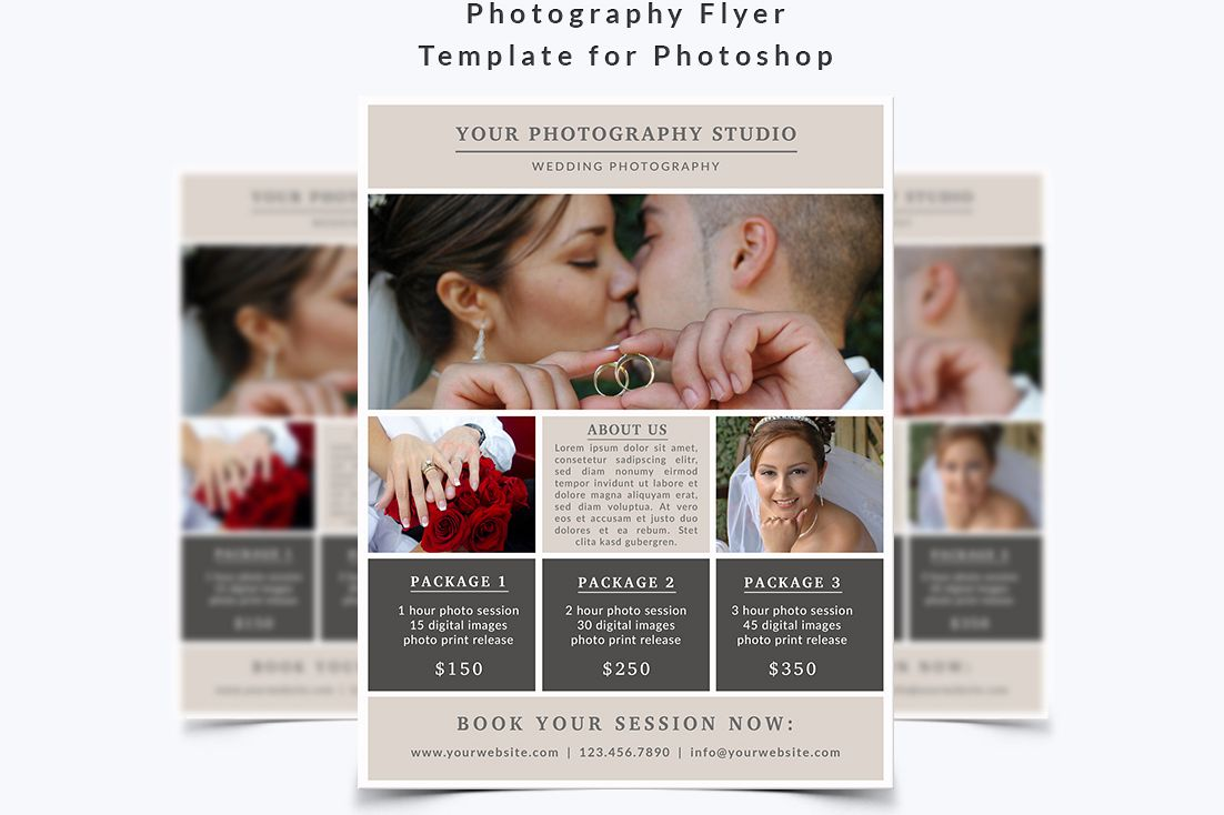 Photography Flyer Template example image