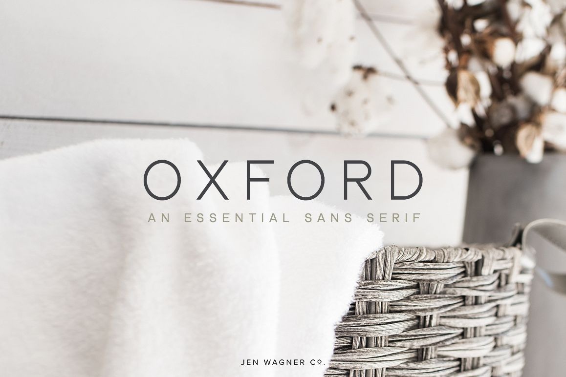 Oxford | An Essential Sans Serif example image