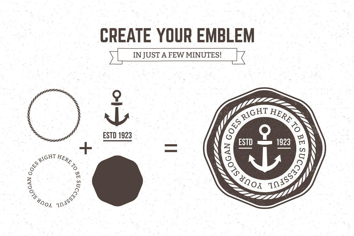 Logo Maker | Retro Emblem Generator example image 2