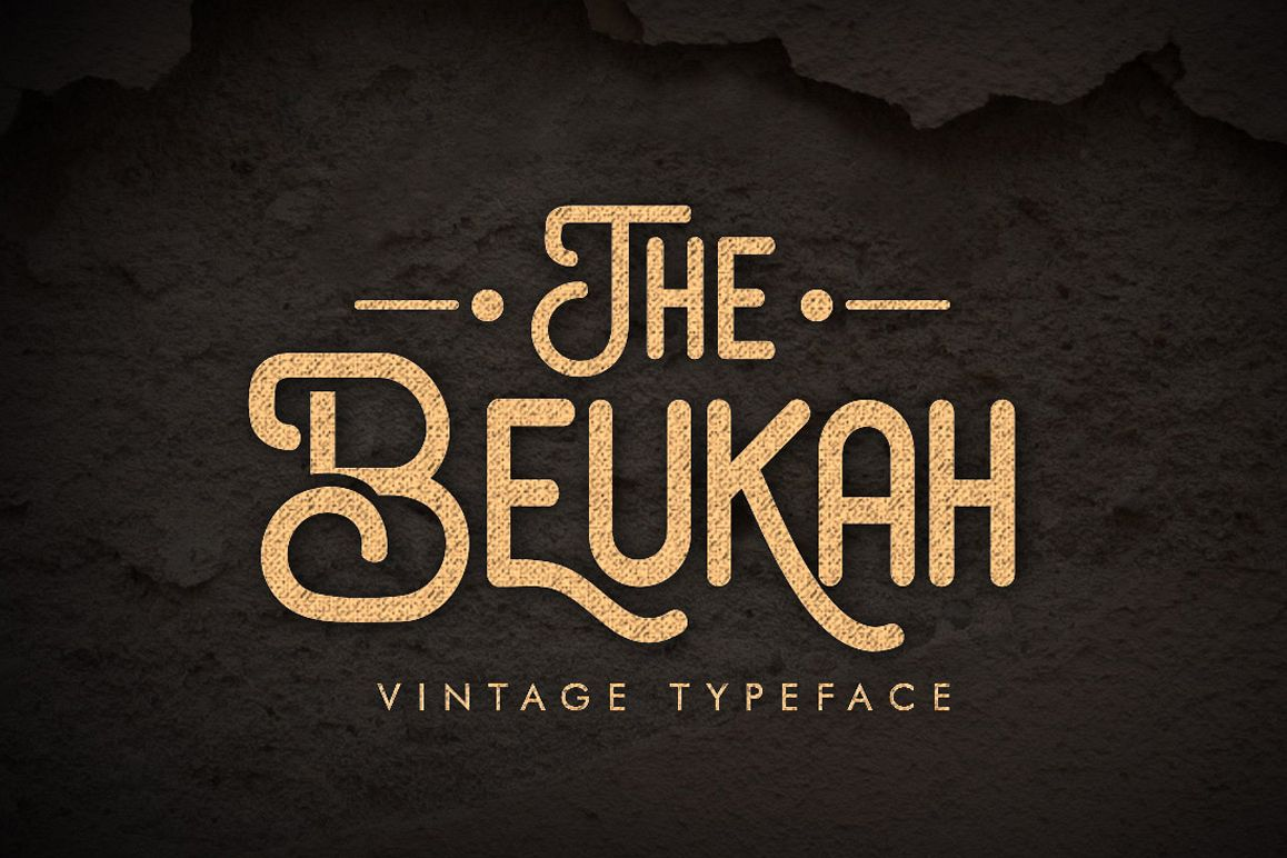 The Beukah (Duo Font) example image