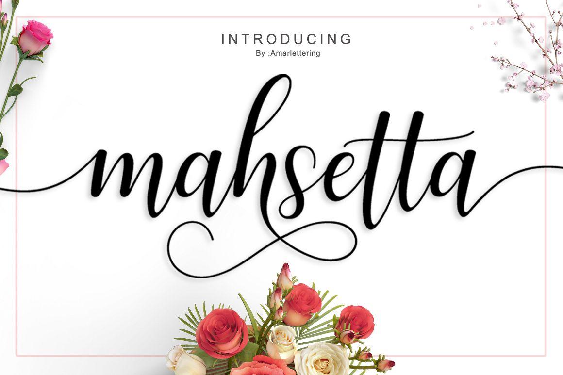 Mahsetta Script  example image