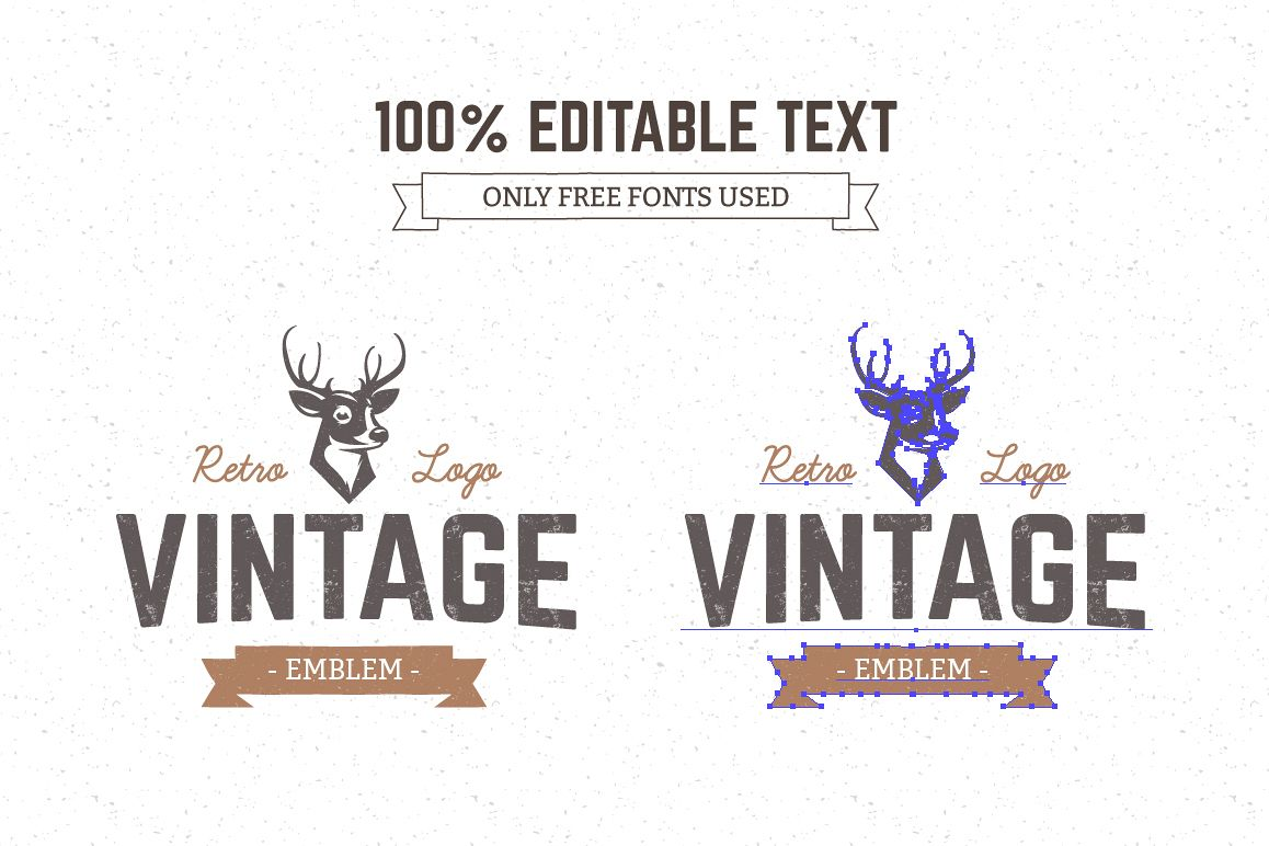 Logo Maker | Retro Emblem Generator example image 4