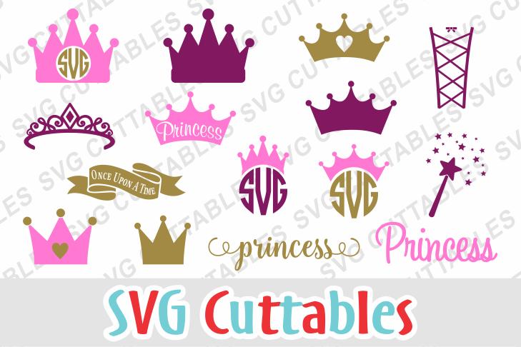 Princess Crown Set of 15 example image