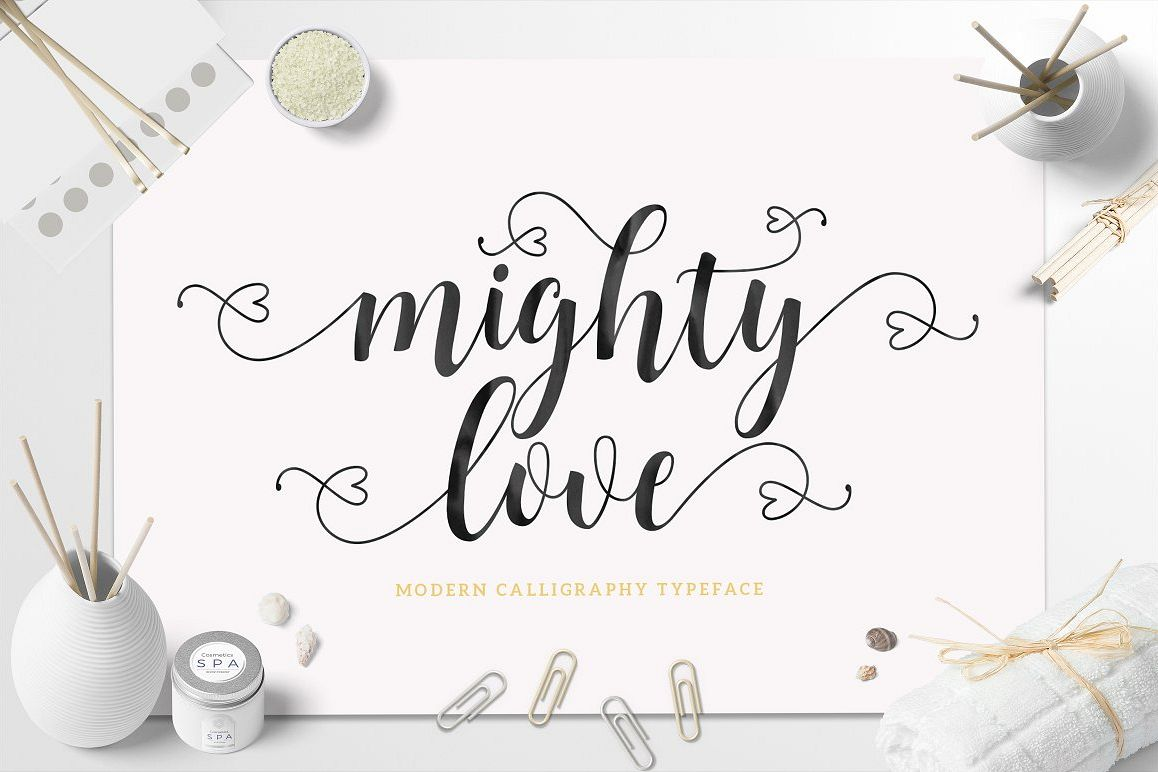 Mighty Love Script example image
