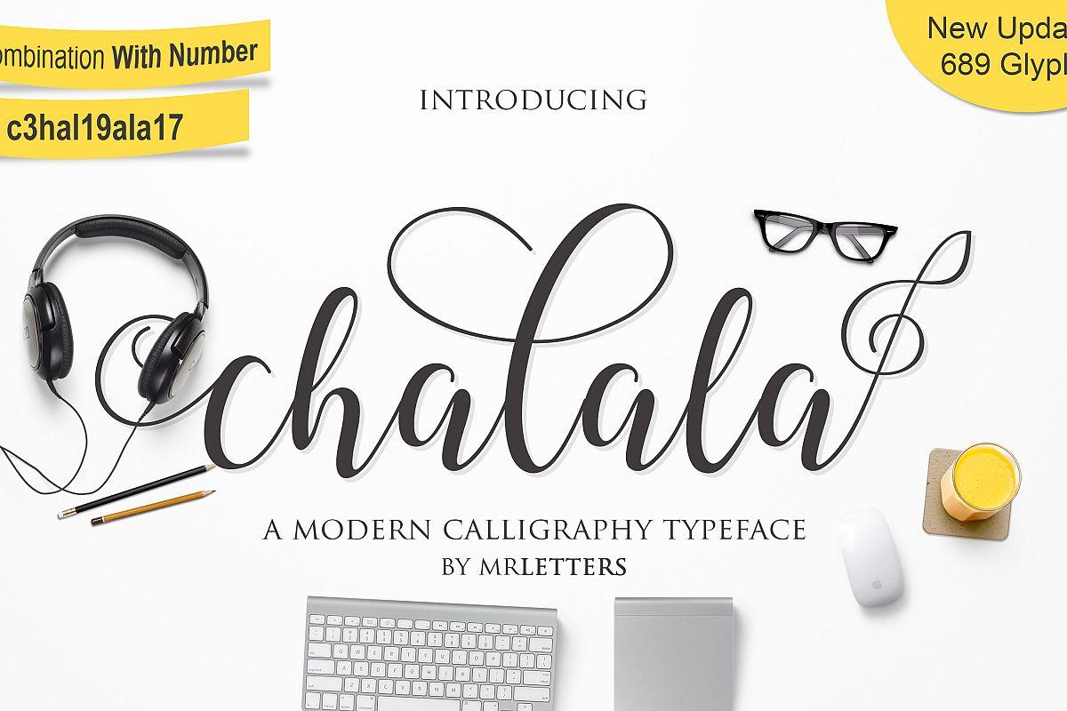 Chalala Script example image