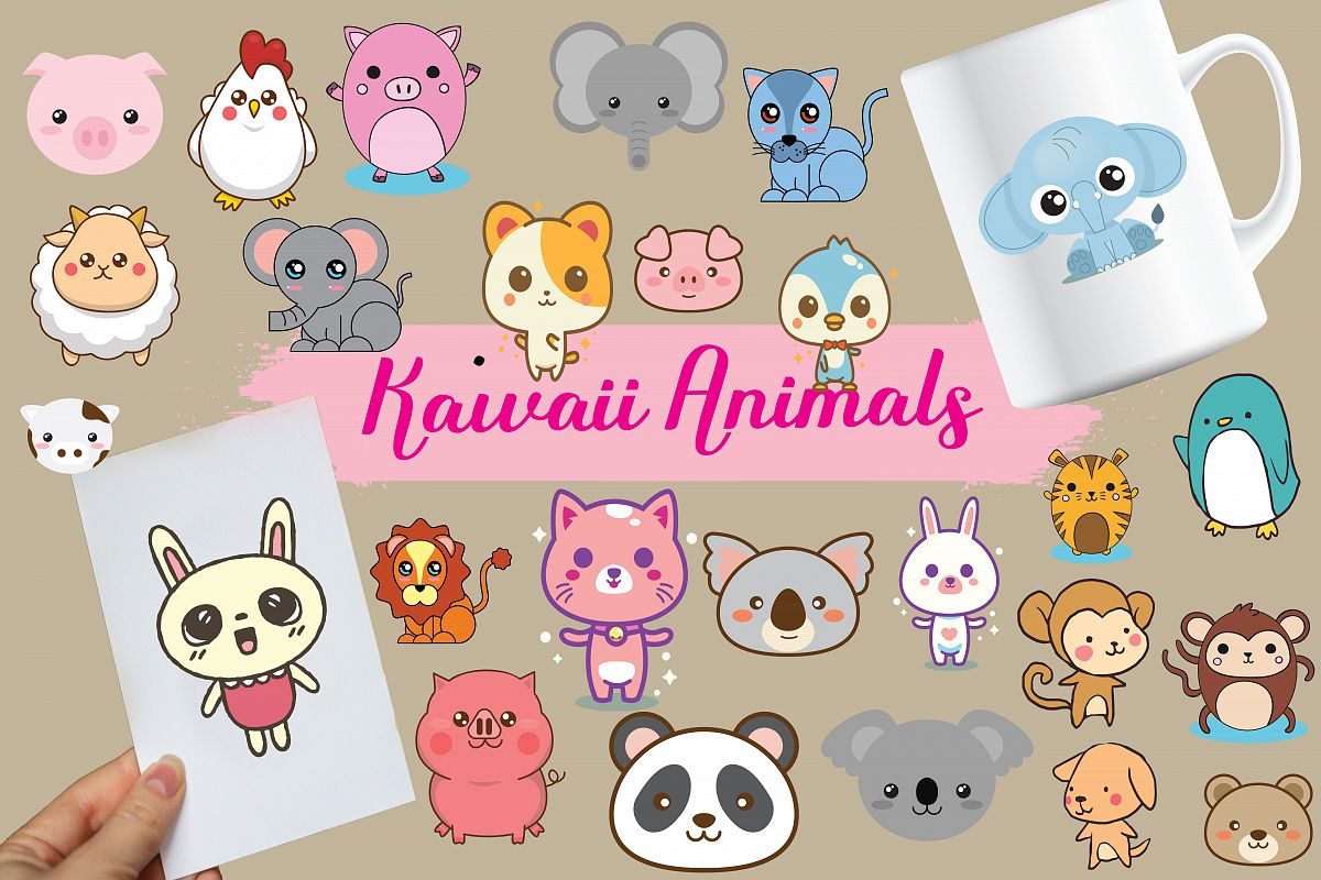 kawaii animals,kawaii,animals,forest animals,forest,animals,animal,fox,owl,bear,kawaii example image