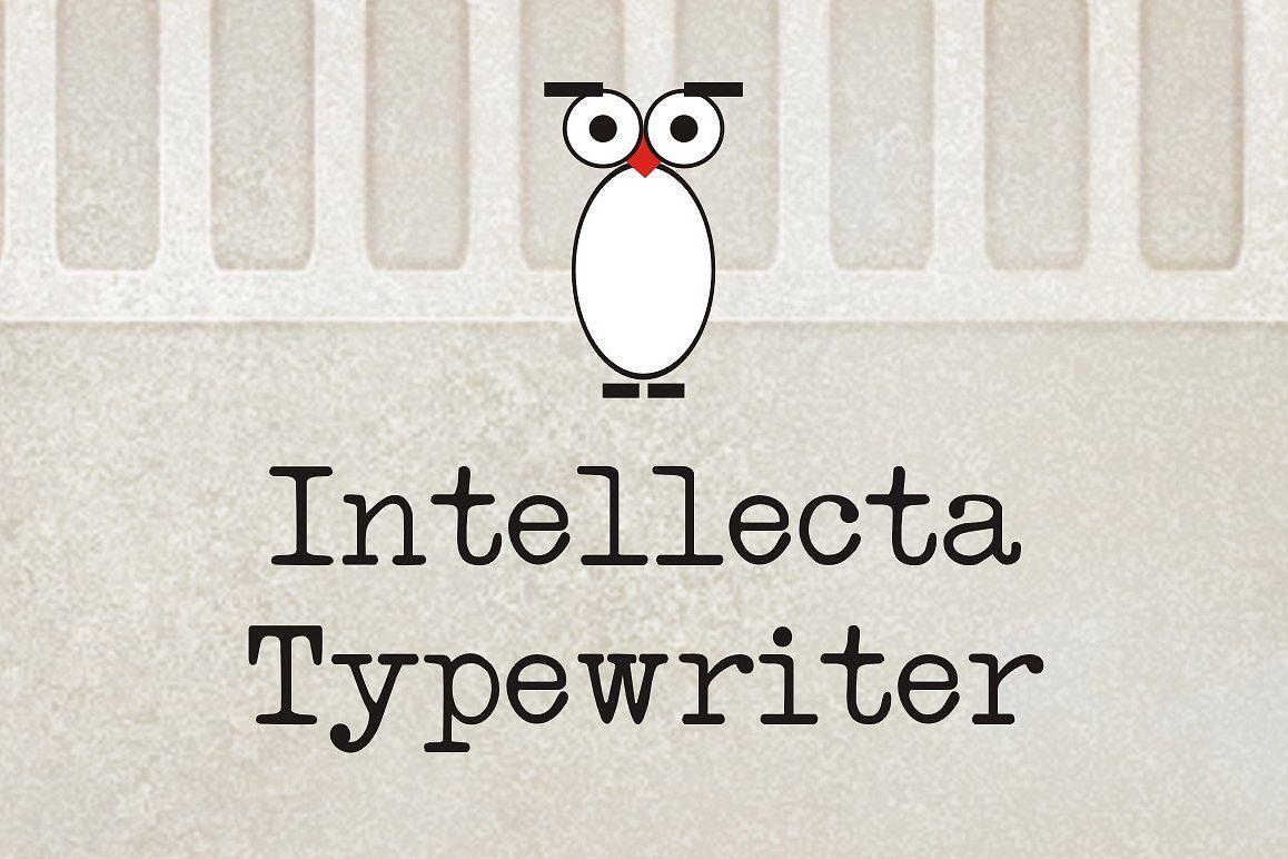 Intellecta Typewriter example image