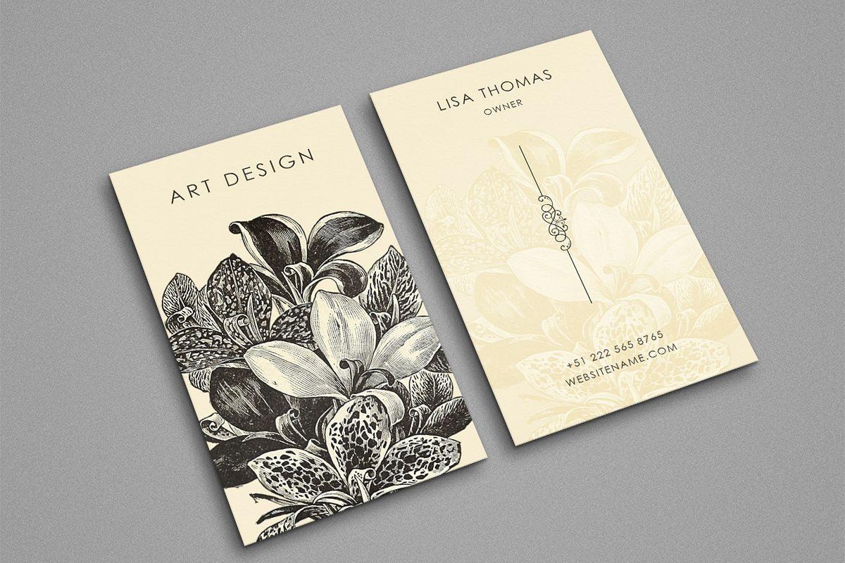 Beautiful creative art business Card by | Design Bundles